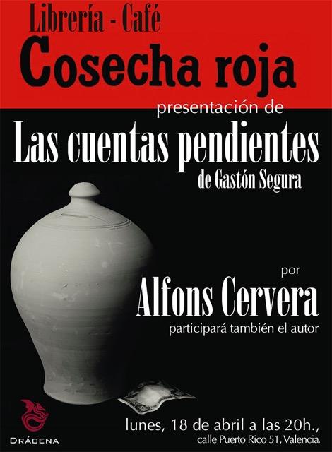 Presentación de Las cuentas pendientes en Valencia