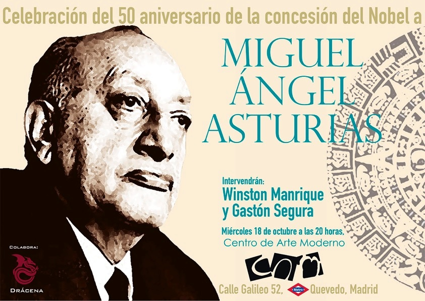 Celebración del 50 aniversario de la concesión del Nobel a Miguel Ángel Asturias